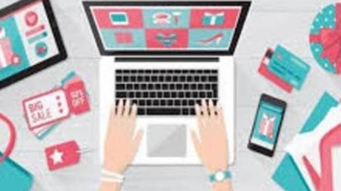 Dengan adanya online shop memudahkan untuk membeli produk.