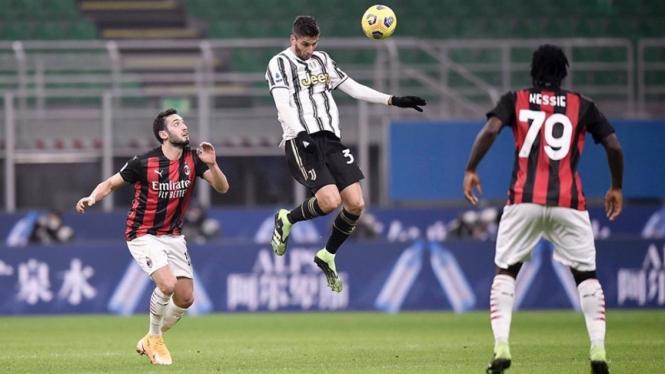 Penampilan Rodrigo Bentancur saat Juventus kalahkan AC Milan