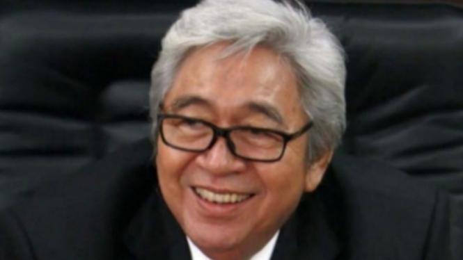 H.M. Taufiq Kiems saat menjabat Ketua MPR RI