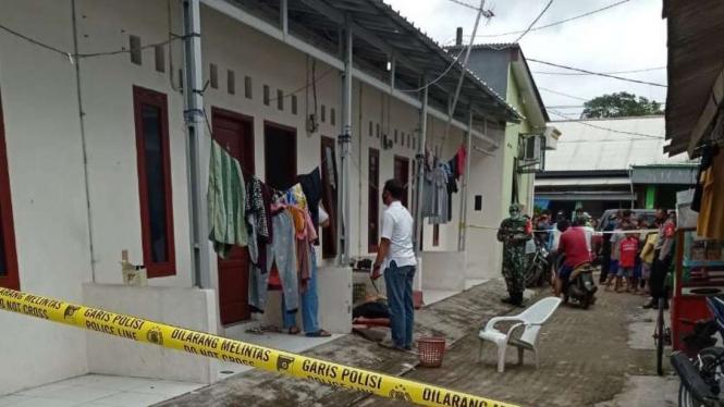 Jasad pria ditemukan bersimbah darah di Tangerang