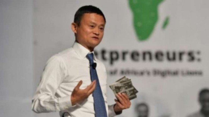 Miliarder China Jack Ma.