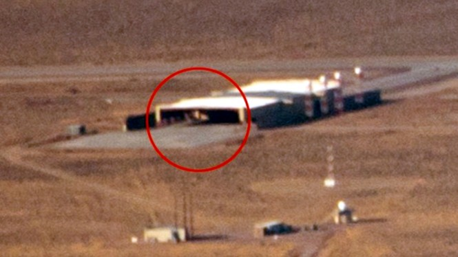 Penampakan aneh di Area 51