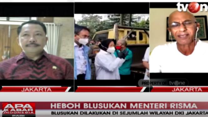 Geisz Chalifah debat sengit dengan politikus PDIP Gilbert Simanjuntak