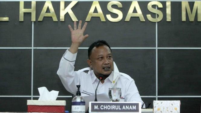 Komisioner Pemantauan dan Penyelidikan Komnas HAM, M. Choirul Anam.