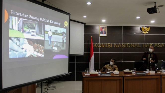 Hasil Investigasi Komnas HAM Terkait Penembakan Laskar FPI