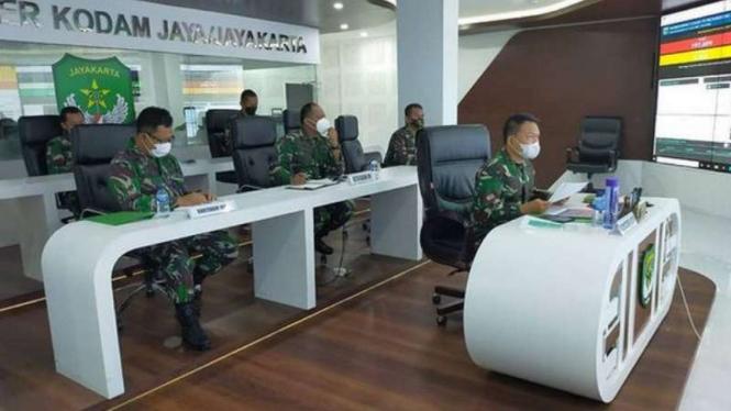 VIVA Militer: Pangdam Jaya hadiri Rakor Penanganan COVID-19