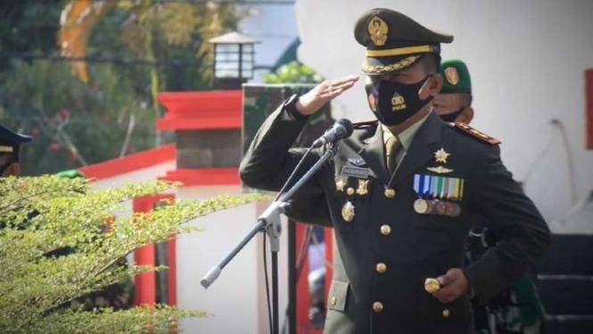 VIVA Militer: Letkol Arh Dian  Musriyanto semasa hidup.