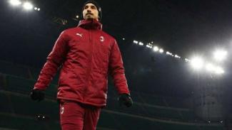 Bomber AC Milan, Zlatan Ibrahimovic.
