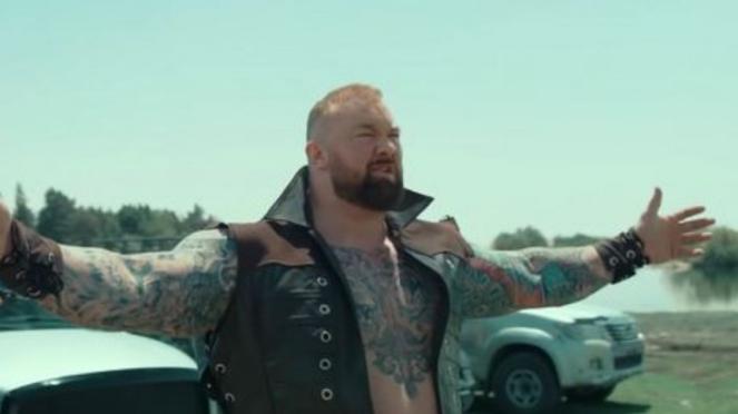 Aktor Game of Thrones dan The World Strongest Man, Hafthor Bjornsson