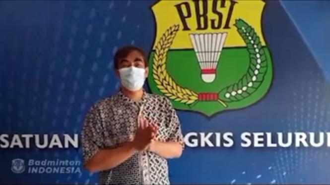 Kepala Bidang Humas dan Media PP PBSI, Broto Happy.