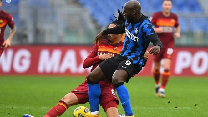 Pertandingan AS Roma vs Inter Milan