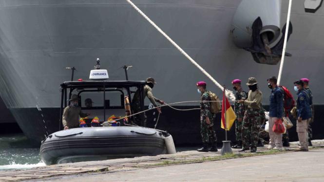 Operasi pencarian kecelakaan Pesawat Sriwijaya Air