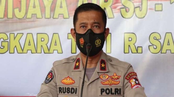 Kepala Biro Penerangan Masyarakat Divisi Humas Polri Brigjen Pol Rusdi Hartono