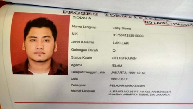 Satu jenazah korban Sriwijaya Air teridentifikasi atas nama Okky Bisma