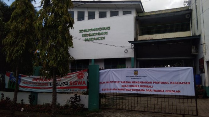Sekolah di Banda Aceh ditutup karena melanggar protokol kesehatan