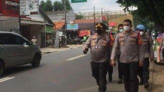 Kapolres Metro Jakarta Selatan Kombes Pol Azis Andriansyah di PN Jakarta Selatan