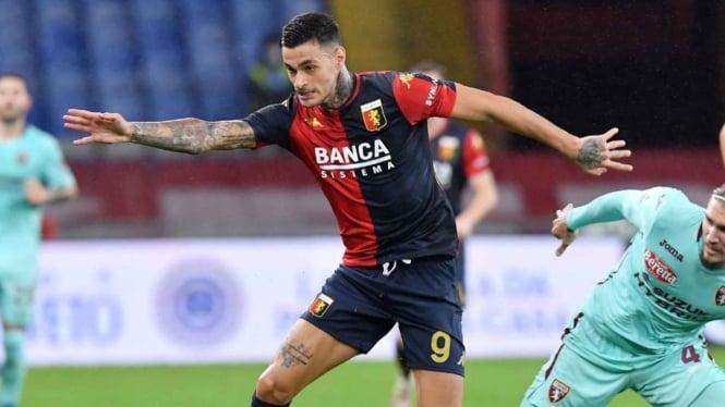 Striker Genoa,Gianluca Scamacca