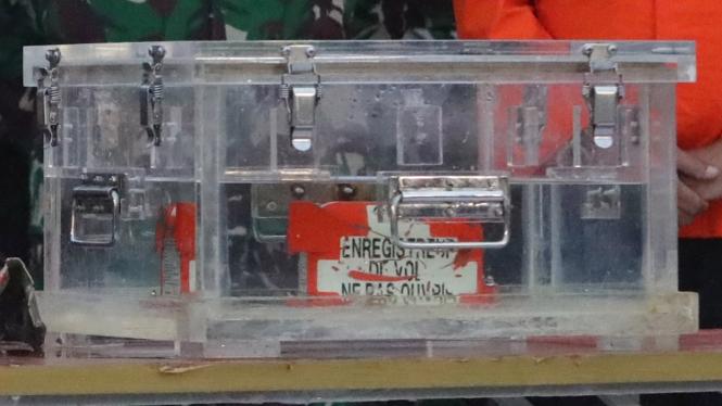Kotak Hitam (Black Box) Pesawat Sriwijaya Air Ditemukan