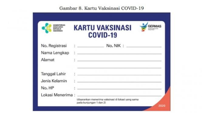 Karti vaksinasi covid-19