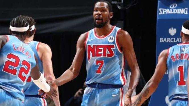 Pemain Brooklyn Nets, Kevin Durant.