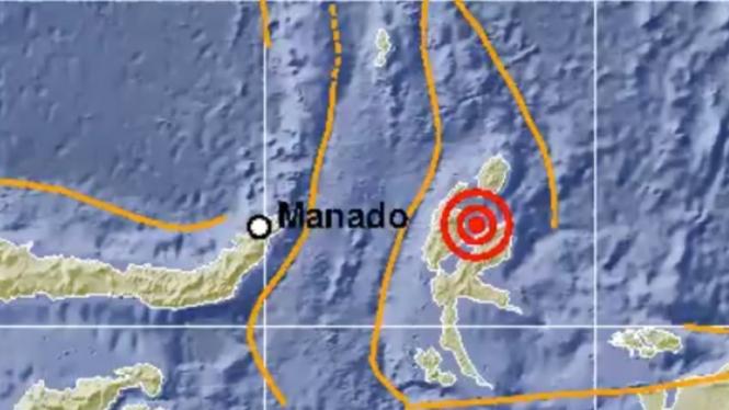 Gempa di Tobelo Maluku Utara