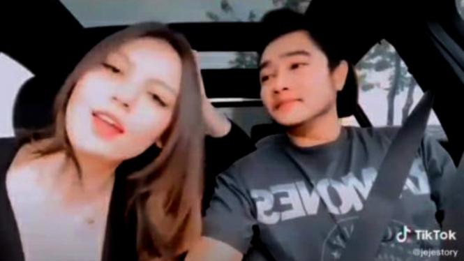 Video TikTok mantan Lucinta Luna, Abash tengah bersama seorang wanita