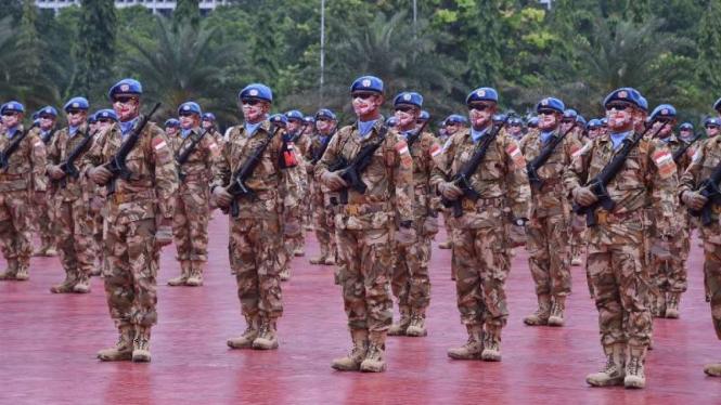 VIVA Militer: 850 Satgas TNI Kontingen Garuda siap diberangkatkan ke Afrika