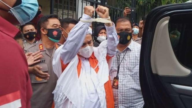 Habib Rizieq Shihab dipindah ke Rutan Badan Reserse Kriminal Polri.