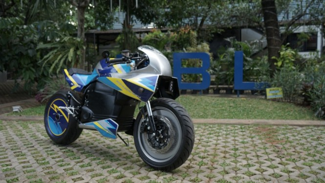 Sepeda motor listrik Budi Luhur Sport Electric Vehicle 01 (BL-SEV01)