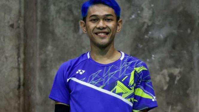 Pebulutangkis ganda putra Indonesia, Fajar Alfian.