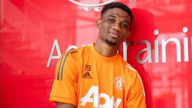 Wonderkid anyar Manchester United, Amid Diallo.