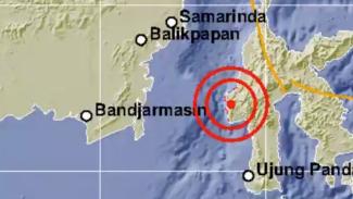 Gempa magnitudo 6,2 guncang Majene-Sulbar