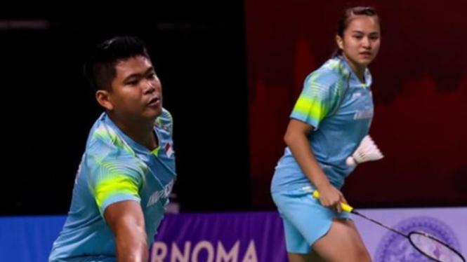 Ganda campuran Indonesia, Praveen Jordan/Melati Daeva Oktavianti.