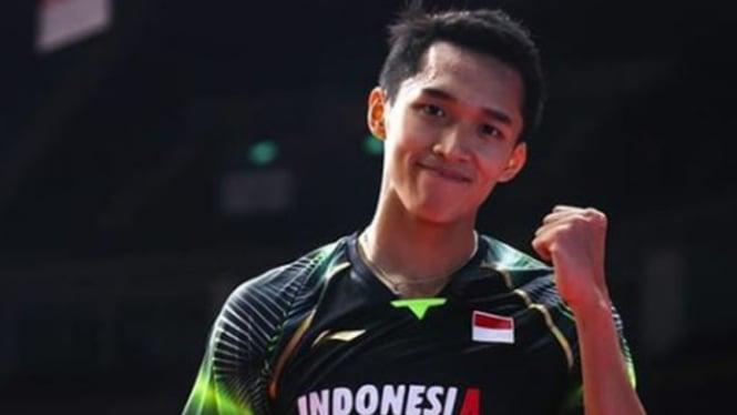 VIVA Bulutangkis: Tunggal Putra Indonesia, Jonatan Christie.