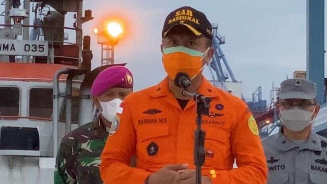 Direktur Pelaksana Basarnas Brigjen TNI MAR Rasman