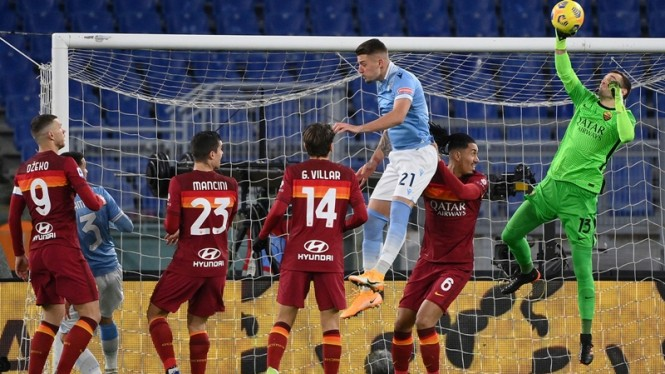 Pertandingan Lazio vs AS Roma