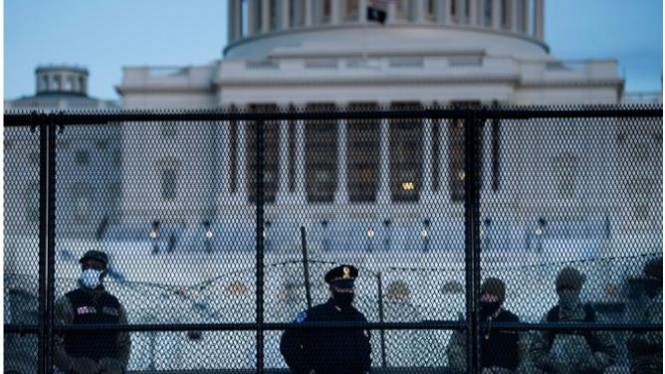 Setelah kerusuhan Capitol pemerintah akan menerjubkan garda nasionala untuk di sebar di Wadhington