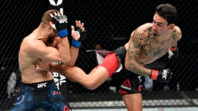 Duel Max Holloway versus Calvin Kattar