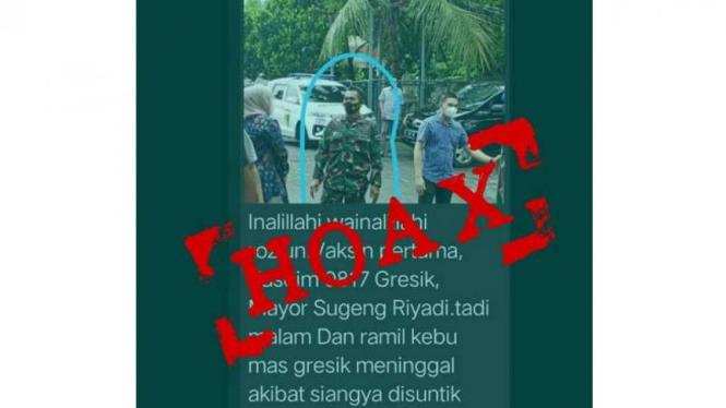 VIVA Militer: Perwira TNI AD jadi korban hoaks Vaksin Sinovac COVID-19