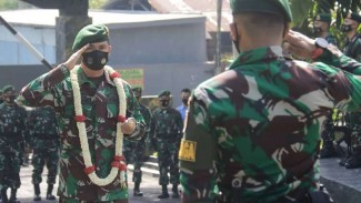 VIVA Militer: Komandan Brigif 13/Galuh, Kolonel M Mahbub Junaedi.