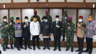 VIVA Militer: Danpasmar I hadiri pelantikan Sekda DKI Jakarta yang baru