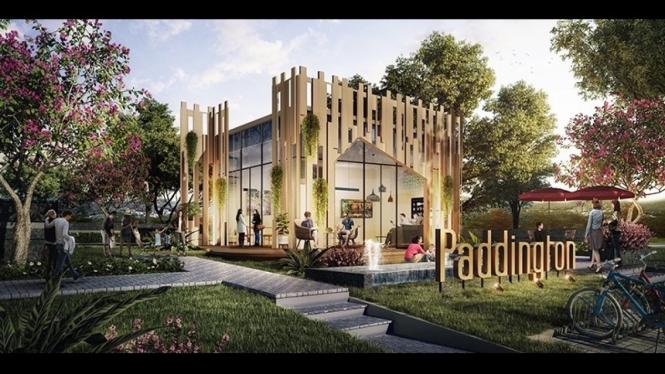 Paddington Wisata Bukit Mas, Surabaya (Sinar Mas Land)Haha