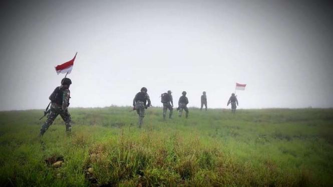 VIVA Militer: Prajurit TNI patroli perbatasan RI-RDTL
