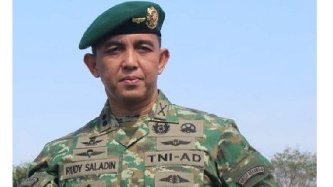 Ajudan Jokowi  Kolonel Inf Rudy Saladin
