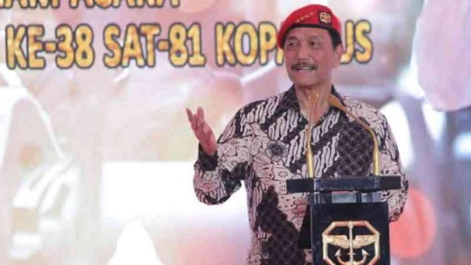 VIVA Militer: Jenderal TNI (HOR) (Purn.) Luhut Binsar Panjaitan