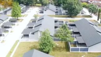 VIVA Militer: Kondisi rumah Prajurit TNI Yonif 403/WP setelah direnovasi.