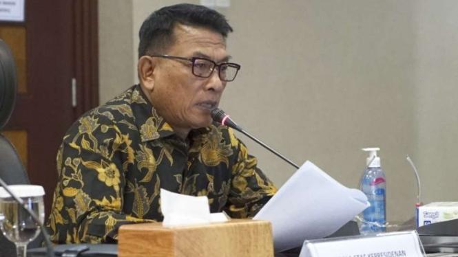 Kepala Staf Kepresidenan, Moeldoko.