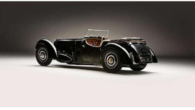Mobil Bugatti 57 S bakal dilelang dan diperkirakan laku Rp95 Miliar.