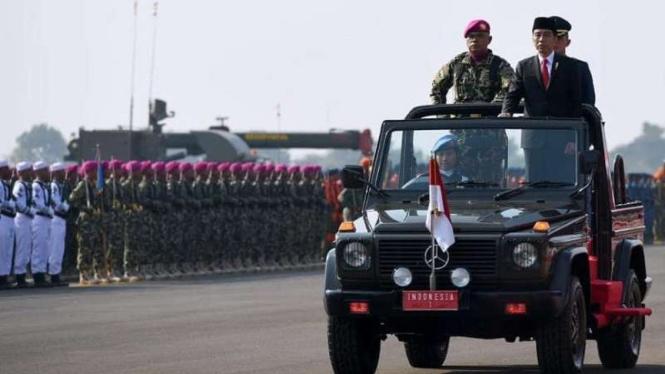 VIVA Militer: Presiden Jokowi.