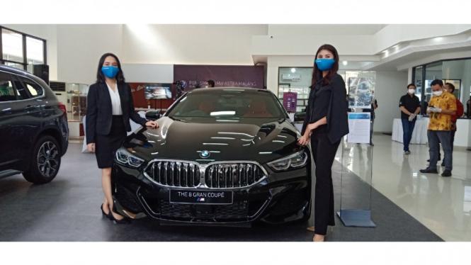Diler BMW Astra di Kota Malang.